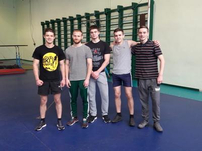 Вітаємо збірну команду ФІТ з гімнастичного триборства