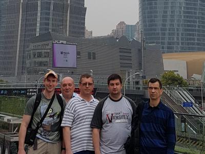 Відрядження до Китаю на запрошення компанії Zhejiang ACME Information Technology Co. LTD